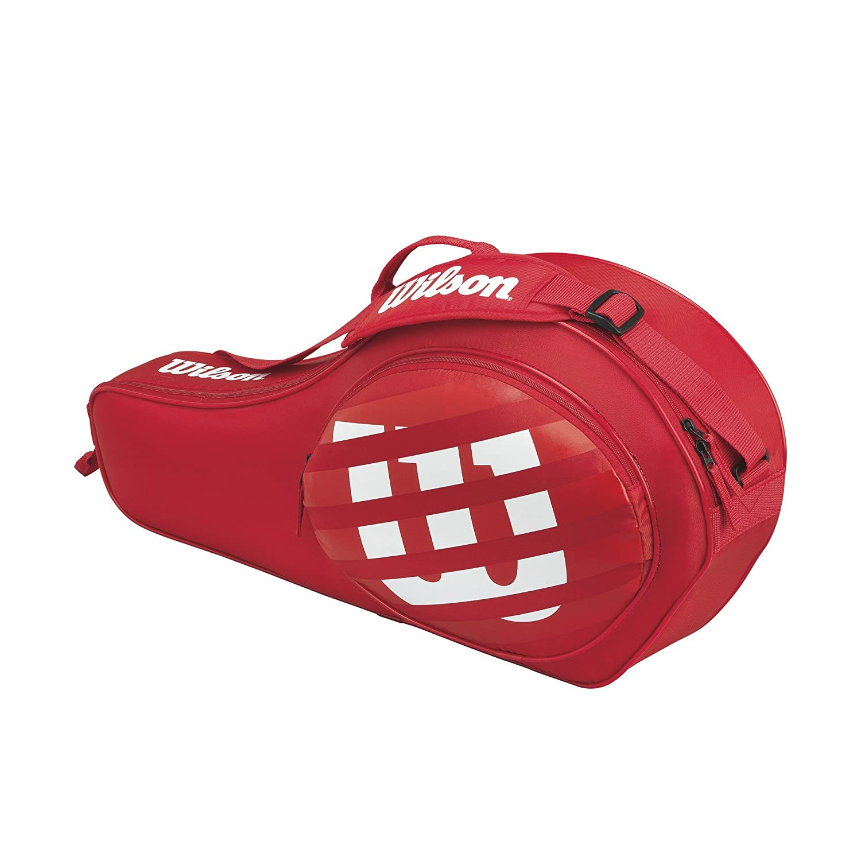 Wilson Match Triple Jr Tennisbag Unisex Kinder Rot (Red) Einheitsgröße WRZ643703
