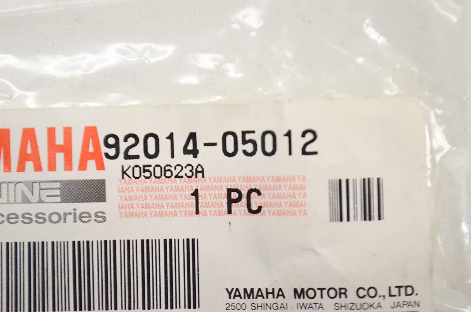 BUTTON HEAD; 920140501200 Yamaha 92014-05012-00 BOLT
