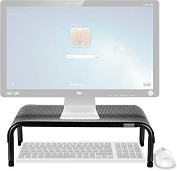Allsop Metal Art Ergo 3 TV:Laptop Riser Adjustable Monitor Stand