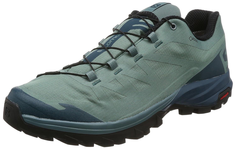 Salomon Outpath GTX, Zapatillas de Senderismo para Hombre 44 2/3 EU|Azul (North Atlantic/Reflecting Pond/Blac)
