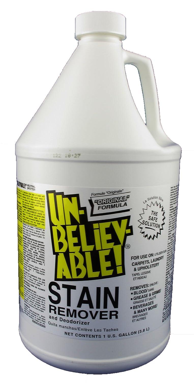 Amazon.com: Unbelievable! SR-640 128 Oz. Stain Remover (Case of 4): Industrial & Scientific