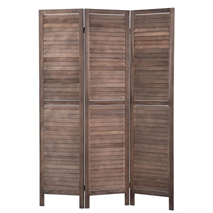 Terrific Rose Home Fashion Rhf 3 Panel 5 6 Ft Tall Wood Room Divider Wood Folding Room Divider Screens Panel Dividerroom Dividers Room Dividers And Folding Download Free Architecture Designs Scobabritishbridgeorg