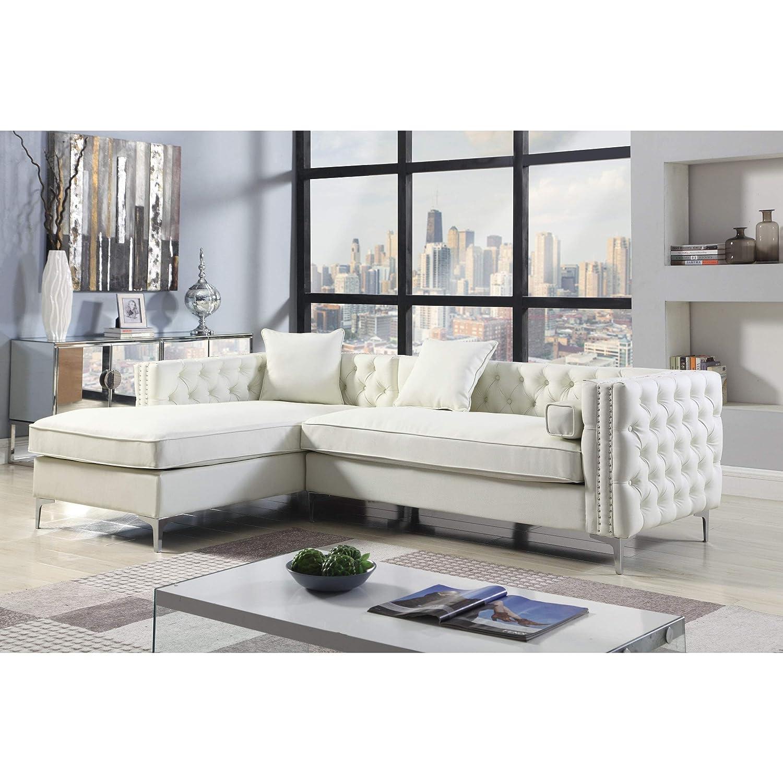 Amazon.com: Chic Home Monet - Sofá de mano izquierda con 3 ...