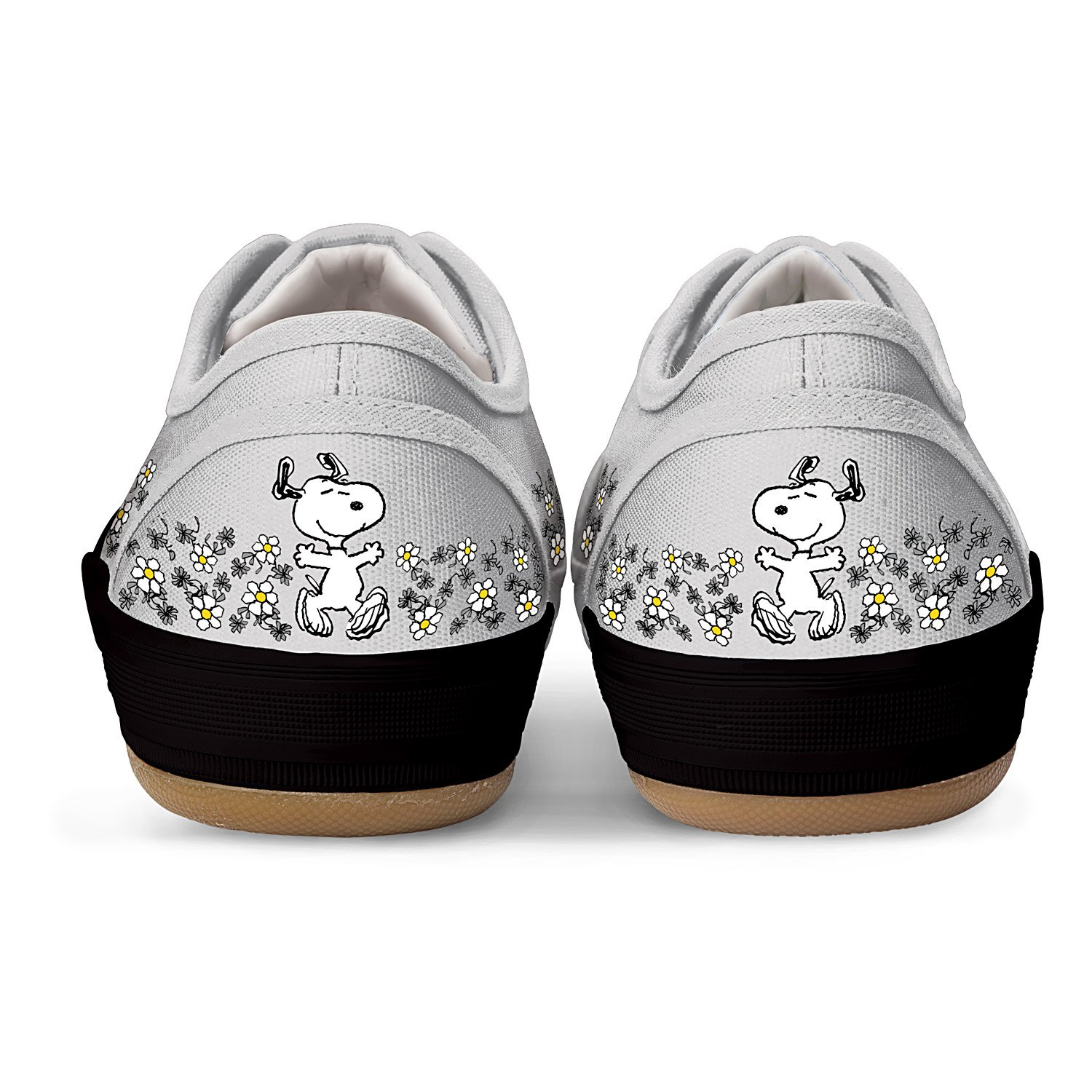PEANUTS Happiness Is Friendship Women's Shoes With PEANUTS Characters Snoopy And Woodstock by The Bradford Exchange B00PYQU2L2 7 B(M) US Multicoloured