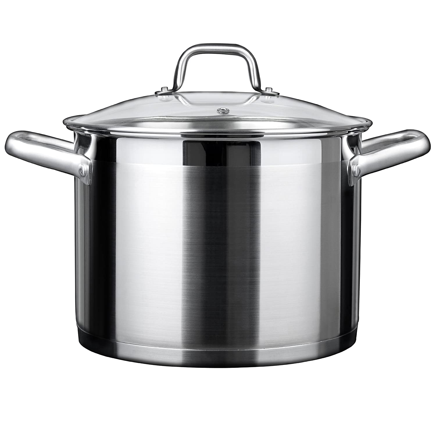 Duxtop Professional Stainless steel Cookware Induction Ready Impact-bonded Technology (8.6Qt StockPot)