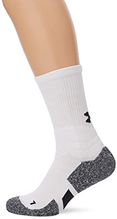 ddace826a Under Armour UA Men's Drive Crew Calcetines, Hombre, Blanco (White/Black 100