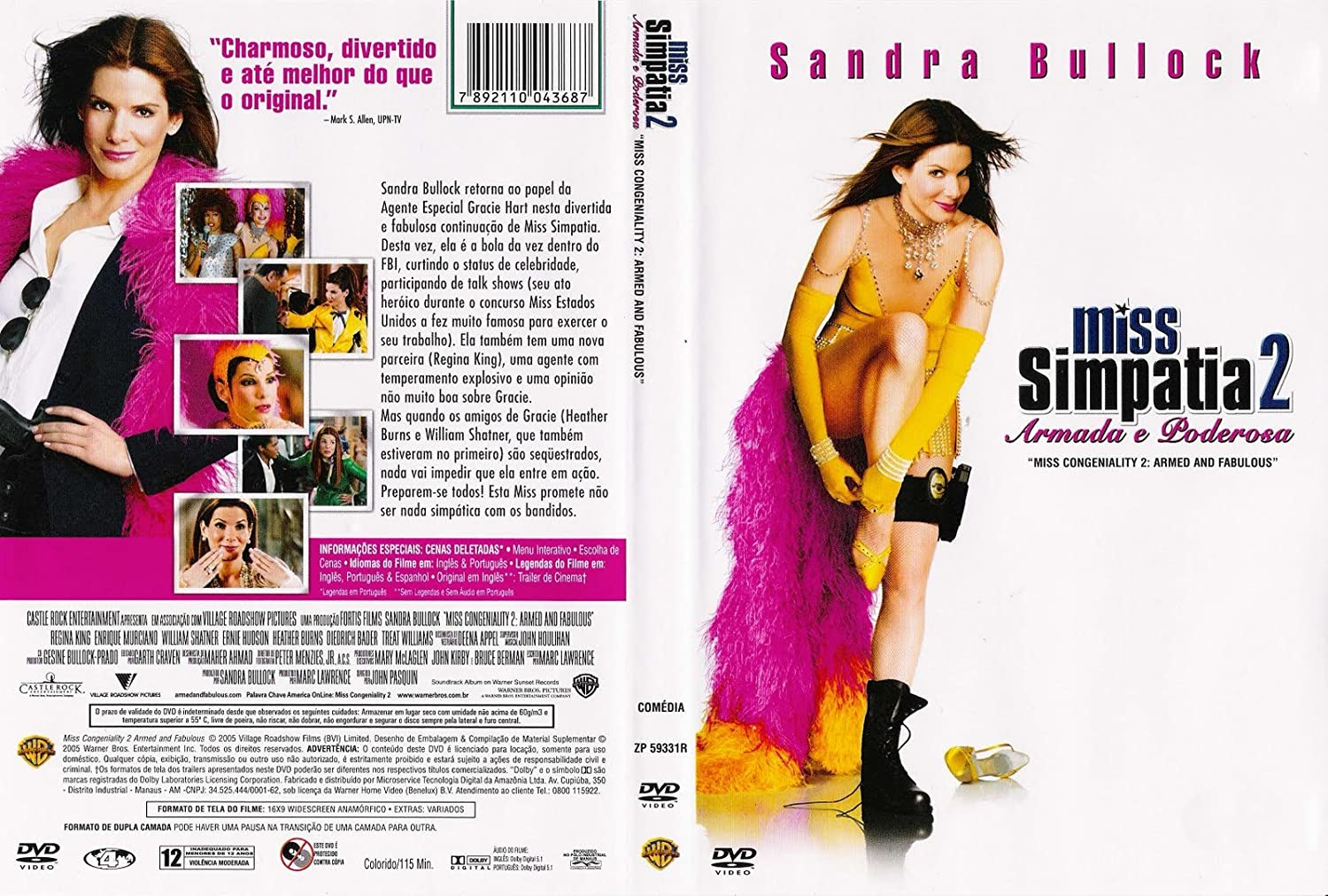 Amazon DVD Miss Simpatia 2