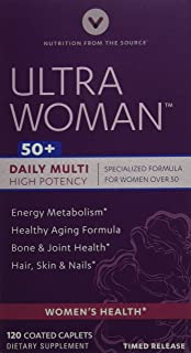 Vitamin World Ultra Woman 50 Plus, 120 Count
