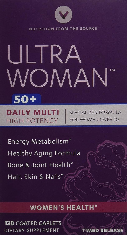 Vitamin World Ultra Woman 50 Plus, 120 Count: Amazon.es: Salud y cuidado personal