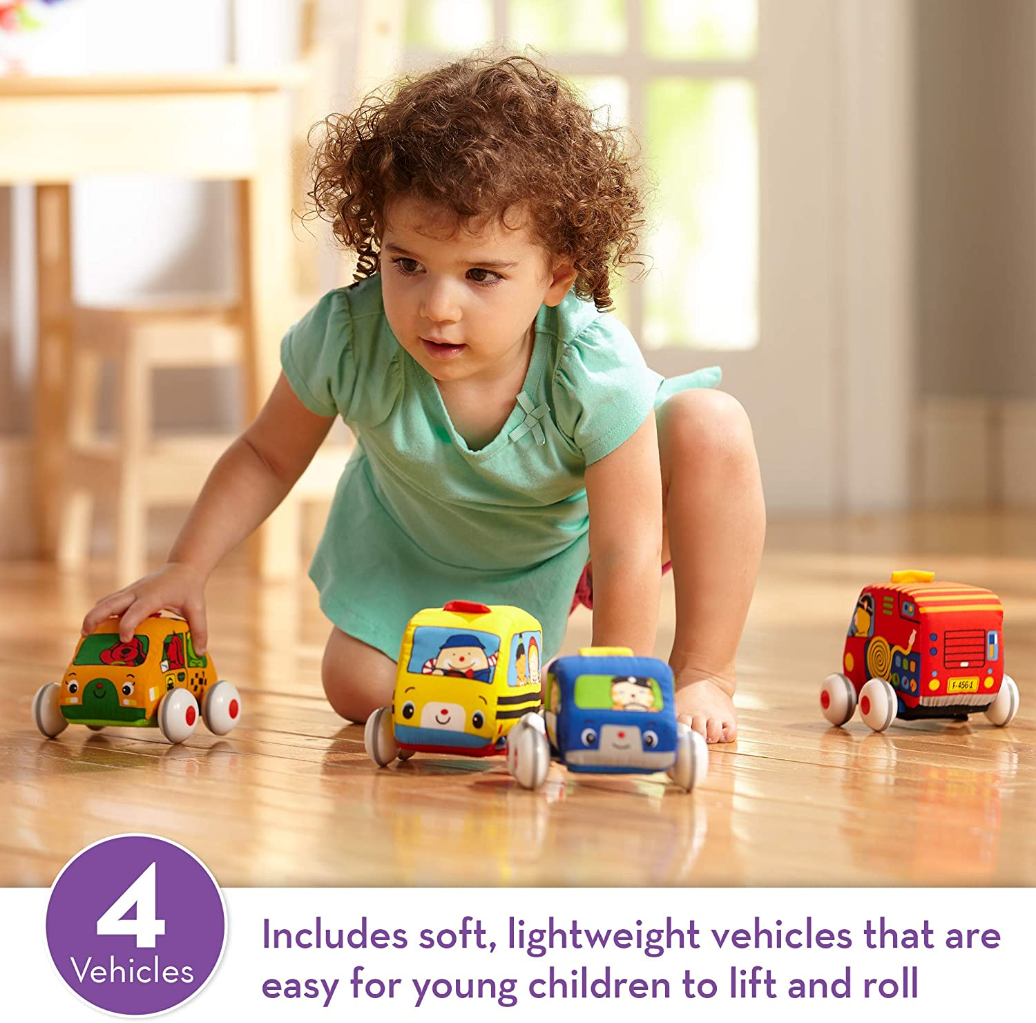 YuanLeBao Baby Pull Back Cars,Toy Cars for Toddler,Push and Go Cars with Music and Lighting Cars Toy for Kids Holiday Birthday Gifts,Baby Toy car for 1-3 Year Old boy//Girl Toy.