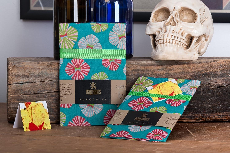 Furoshiki Fabric Eco friendly, reusable Japanese Gift Wrap DIY