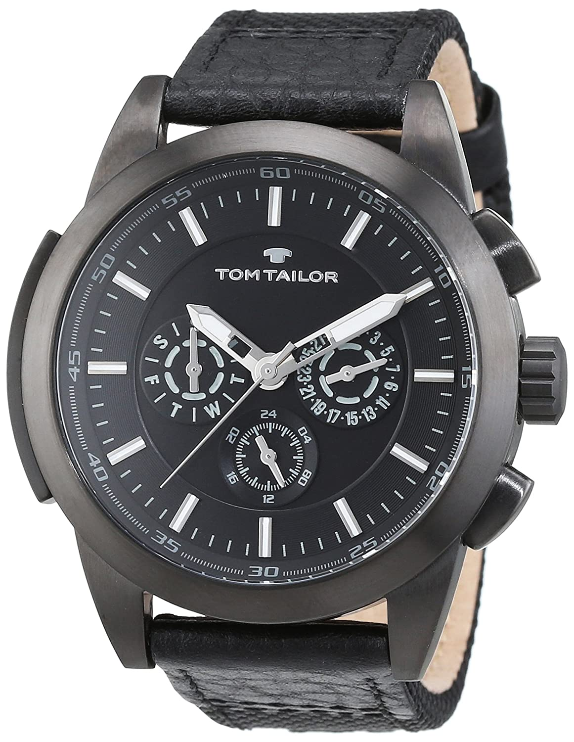 TOM TAILOR Watches Herren-Armbanduhr Analog Quarz verschiedene Materialien 5414901