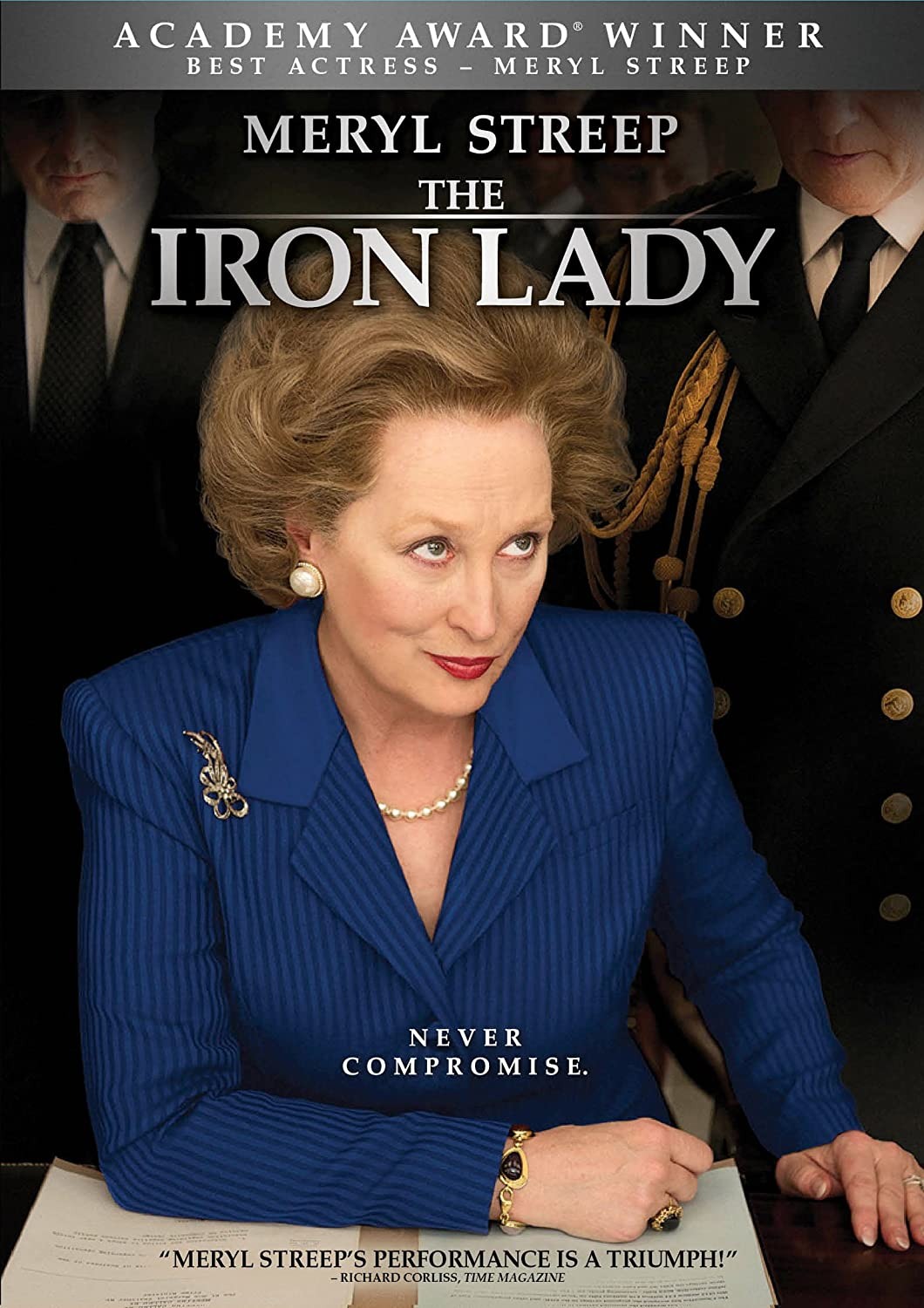 Image result for the iron lady dvd