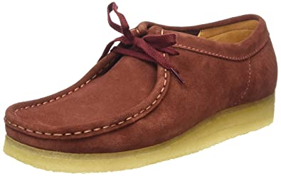 11fb5e83208 Clarks Originals Wallabee - Terracotta Red UK 11  Amazon.co.uk ...
