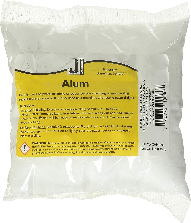 B0009IN1FY Jacquard Products Jacquard Alum, 1-Pound (CHM1006) 814NZL1H38L