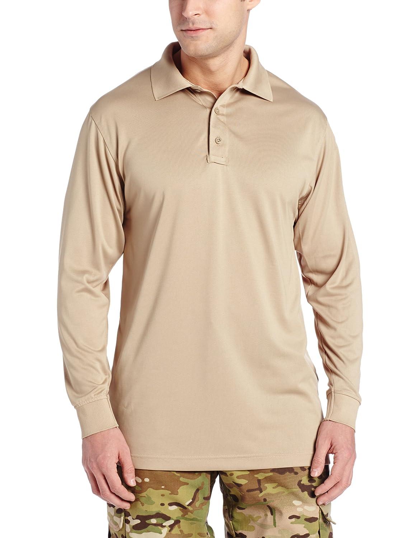cb6e0d4f7cb5 FREE SOLDIER Mens Long Sleeve Polo Shirt Breathable Coolmax Tactical Polo  XXL ) nanjing yebao Christmas gift ideas