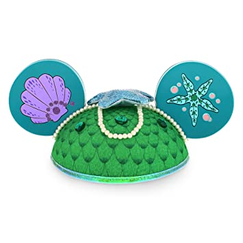 Disney Parks The Little Mermaid Ariel Mickey Mouse Ears Hat - Disney Parks Exclusive & Limited