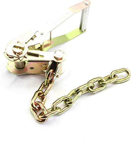 Auto Hauler 5//16 G70 Chain Ratchet with 8 RTJ Cluster Hook Tie Down Set WorldPac Pack of 8