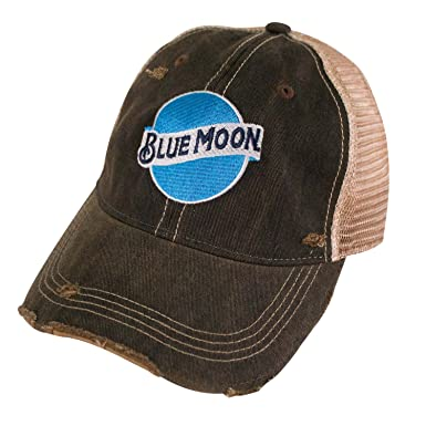 cec087b8eed2c Image Unavailable. Image not available for. Color: Blue Moon Retro Brand  Mesh Mens Trucker Hat