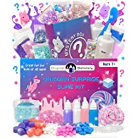 Original Stationery Mystery Slime Kit Surprise - DIY Slime Supplies Kit with Mystery Slime Box Add Ins for Fluffy, Cloud…