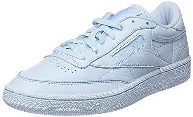 100% authentic bf0cb c9f47 Reebok Club C 85 Elm, Sneakers Basses Homme, Bleu (Fresh Blue) 40.5