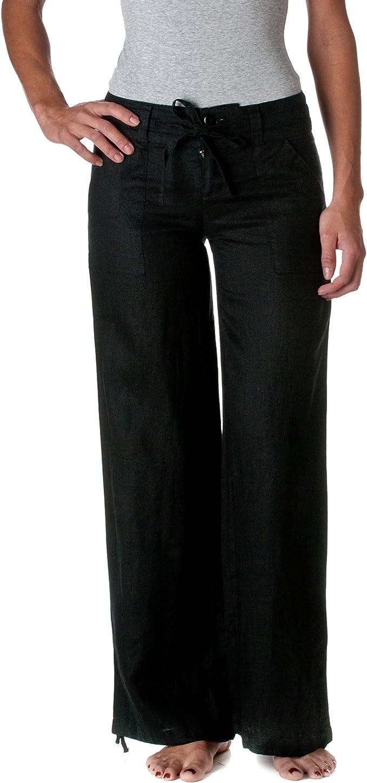 Ladies cream//white trousers Very wide flare leg NAUGHTY designer Size 8 10