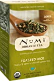 Numi Organic Tea--Toasted Rice Sencha Green Tea--18 count Non-GMO Tea Bags--Individually Bagged Organic Non-GMO Tea