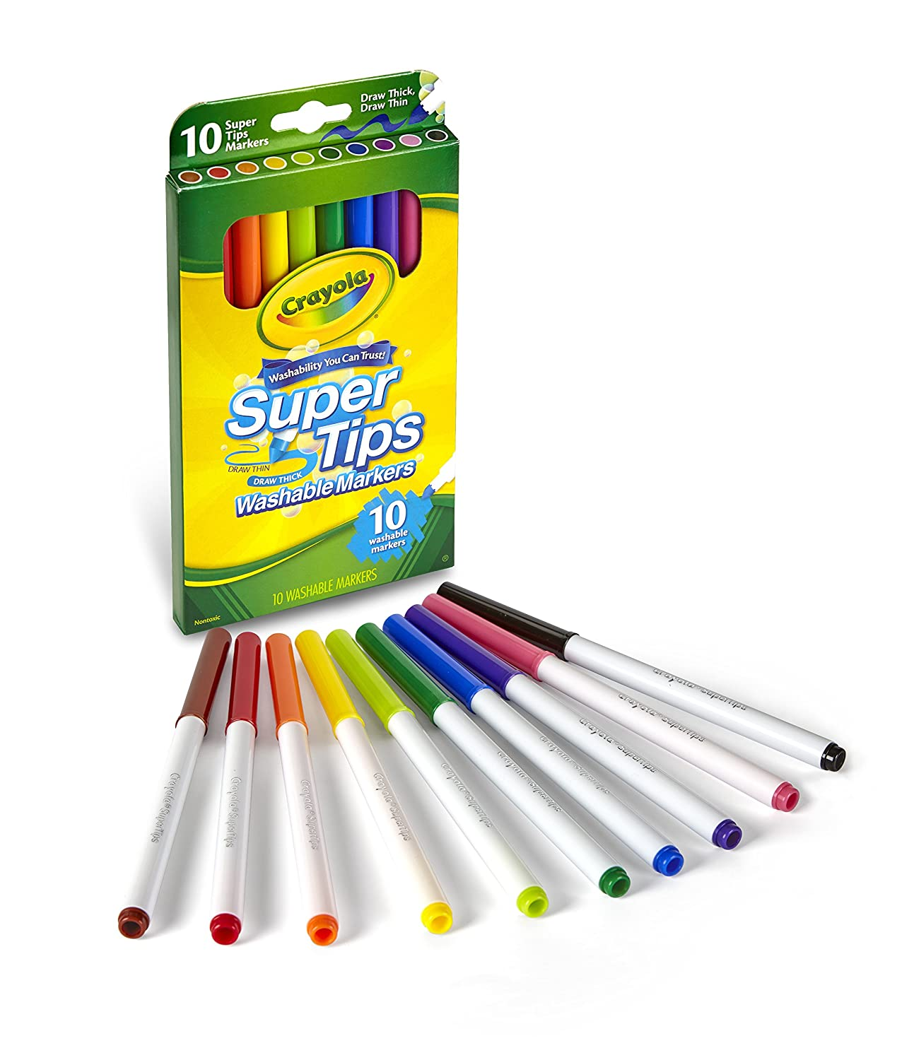 Crayola Washable Super Tip Markers