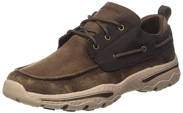 Skechers Creston-Vosen, Zapatillas para Hombre, Beige (Taupe), 47.5 EU