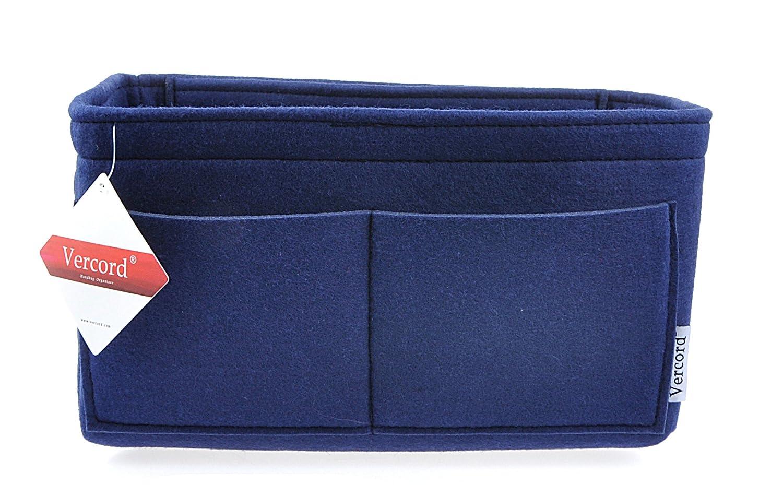 Vercord Purse Organizer Insert Felt Neverfull Bag Handbag Tote Organizer In Bag Shaper Liner 4 Size SWSNB-013