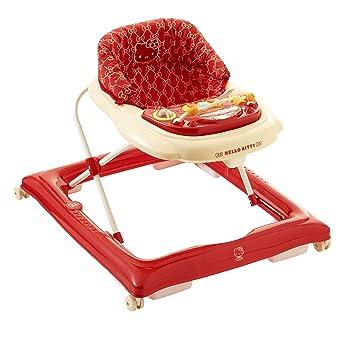 Amazon.com: Mi primera Walker Hello Kitty (Rojo): Baby