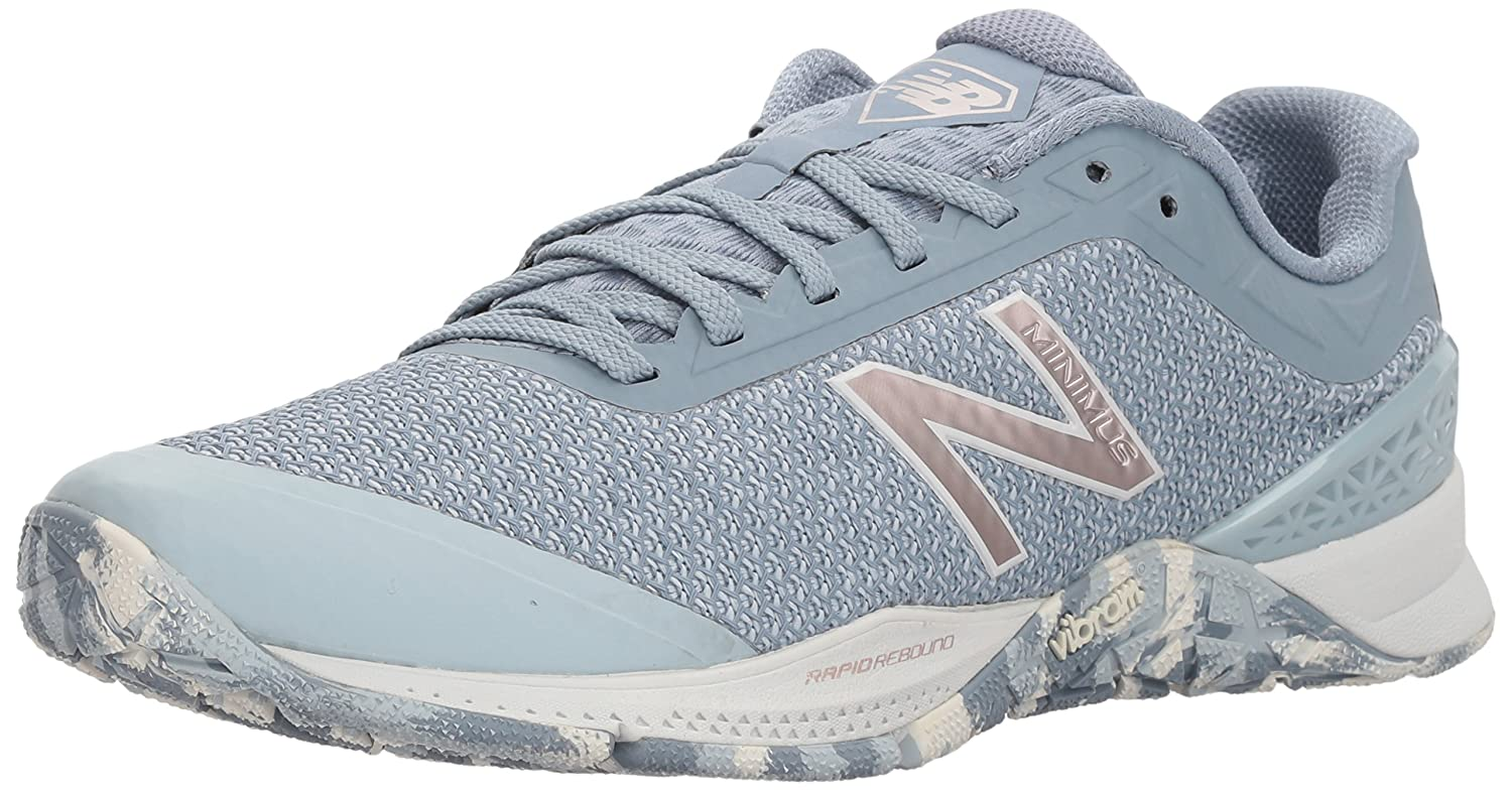 New Balance Women's 40v1 Minimus Cross Trainer B06XRWCY54 10 B(M) US|Light Blue