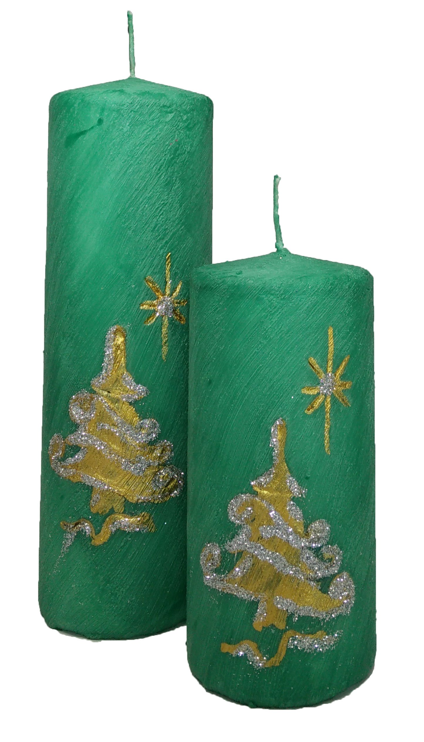 Christmas Made in America - handmade, Christmas Candle, Decorative Pillar Candle - Christmas Star of Bethlehem by Prestige Candles