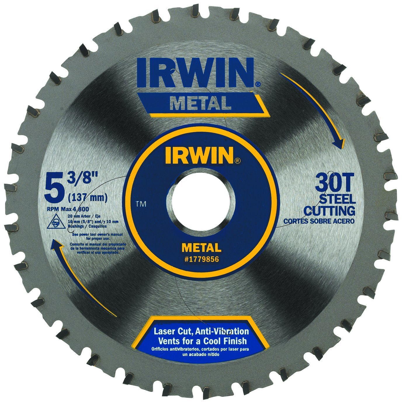 Irwin tools metal cutting circular saw blade 5 38 inch 30t irwin tools metal cutting circular saw blade 5 38 inch 30t 1779856 amazon keyboard keysfo Image collections
