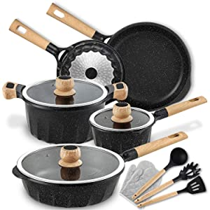 Best Cookware Set Under 200 Reviews (Cheap & Affordable for 2020) 7