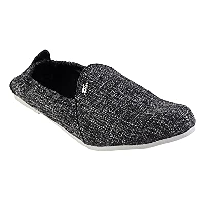 52574a343ab8f Kashish Men's Black Jute Loafers