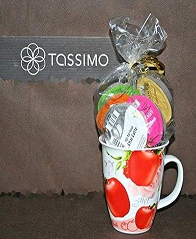 Tassimo T Disc Probierpaket: Alle Tassimo Teesorten mit Teetasse aus ...