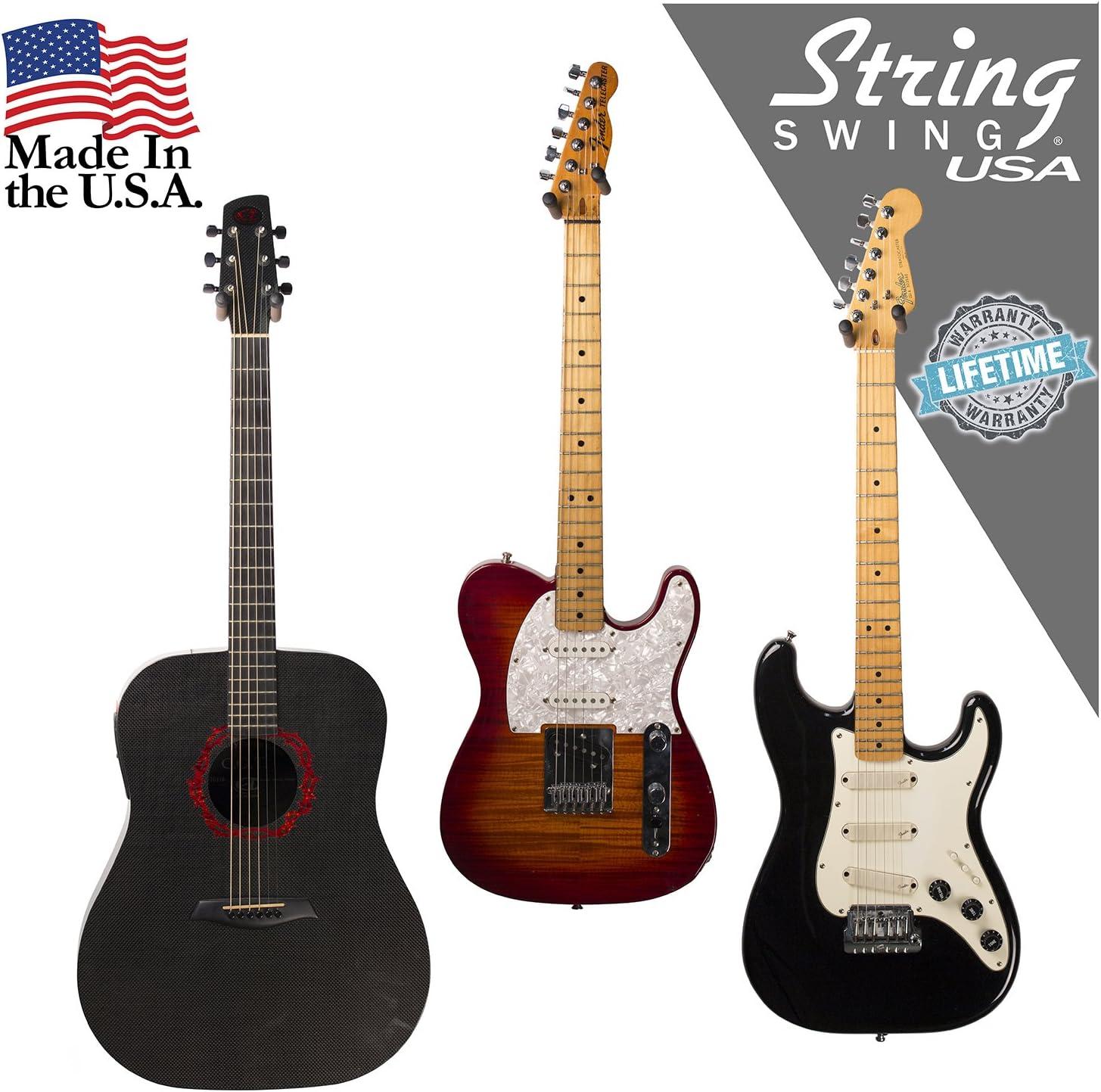 String Swing guitarra percha – Soporte para guitarras eléctricas y ...