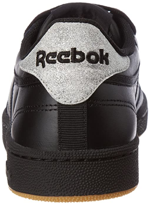 6aaf469c51c Reebok Women s Club C 85 Diamond Fitness Shoes Black  Amazon.co.uk  Shoes    Bags