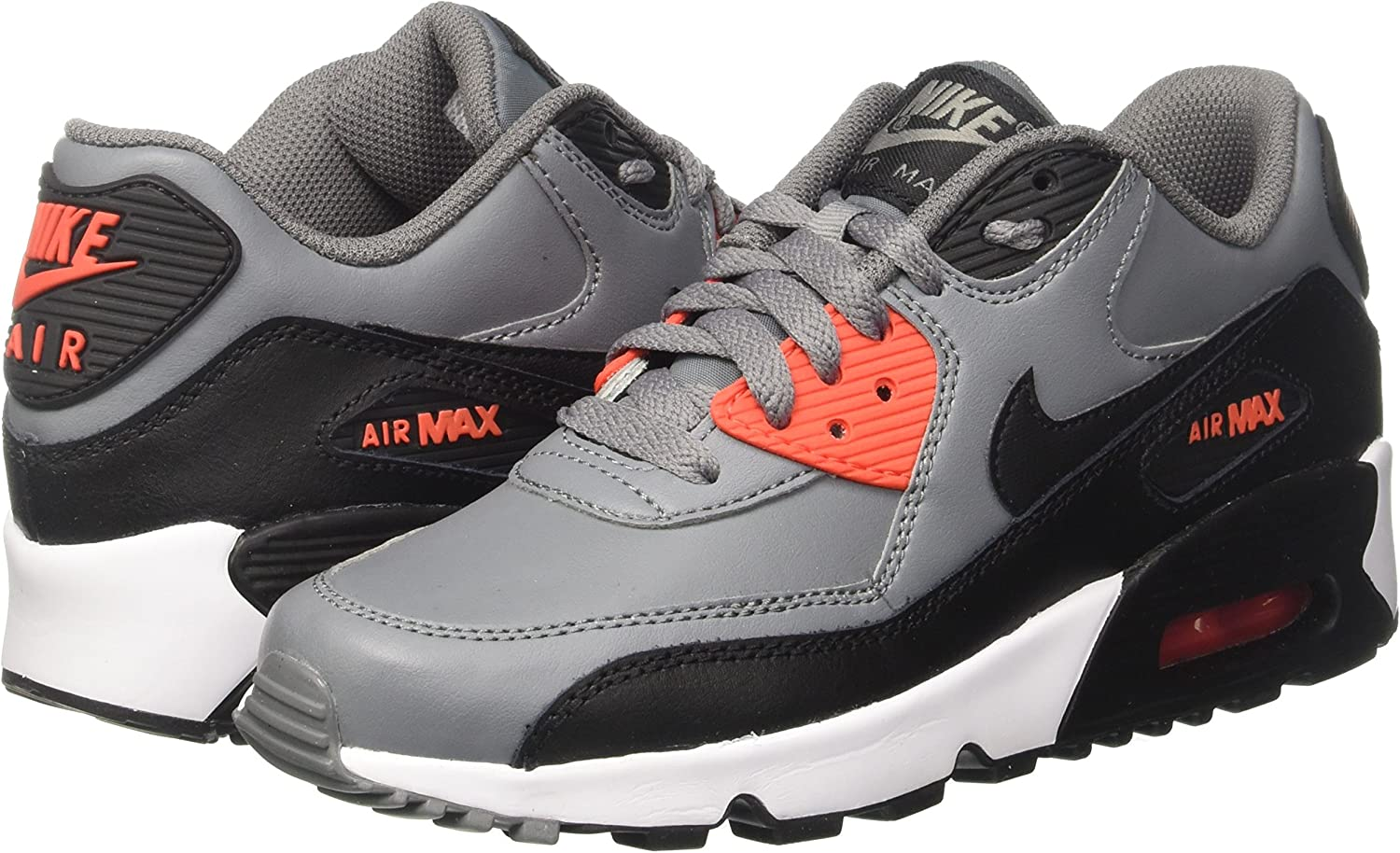 Nike Air Max 90 LTR GS, Sneakers Basses Mixte Enfant