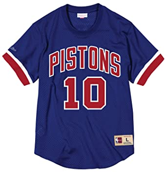 ae20f76aac053 Dennis Rodman Detroit Pistons Mitchell & Ness NBA Men's Mesh Jersey Maillot  shirt chemise