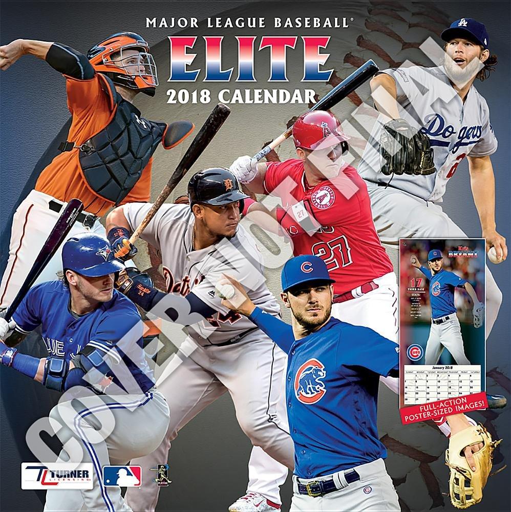 Mlb Calendar 2019 Major League Baseball Elite 2019 Calendar: Lang Holdings Inc