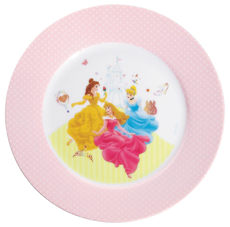 farb- und lebensmittelecht sp/ülmaschinengeeignet WMF Disney Princess Kindergeschirr Kinderteller Porzellan /Ø 19,0 cm