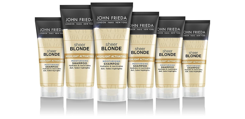 John Frieda Sheer Blonde Souligne l'Activation Shampooing hydratant Kao 1448810