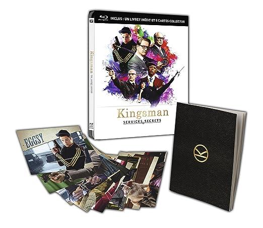 Kingsman : Services secrets [Combo Blu-ray + Copie digitale - Édition boîtier métal avec goodies]