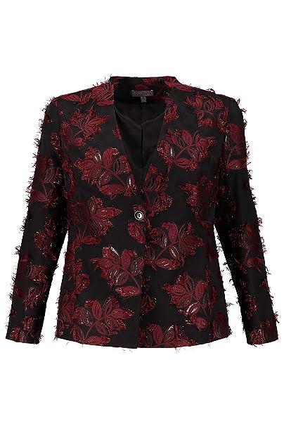 Amazon.com: Ulla Popken 718879 - Chaqueta para mujer (talla ...