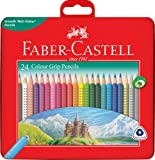 Faber-Castell Colour Grip Pencils Gift Tin of 24, (16-116256)