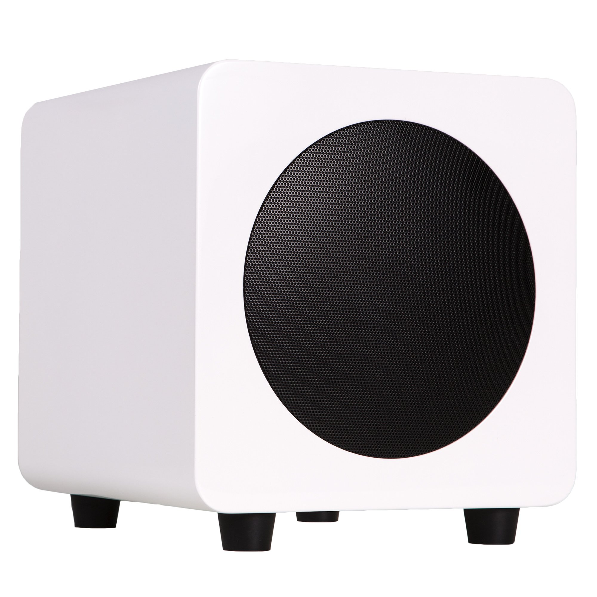 Kanto SUB6GW Powered Subwoofer (Gloss White) by Kanto