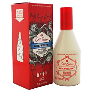 Old Spice Wild Collection Wolfthorn Scent Men's Cologne Spray 4.25 Oz