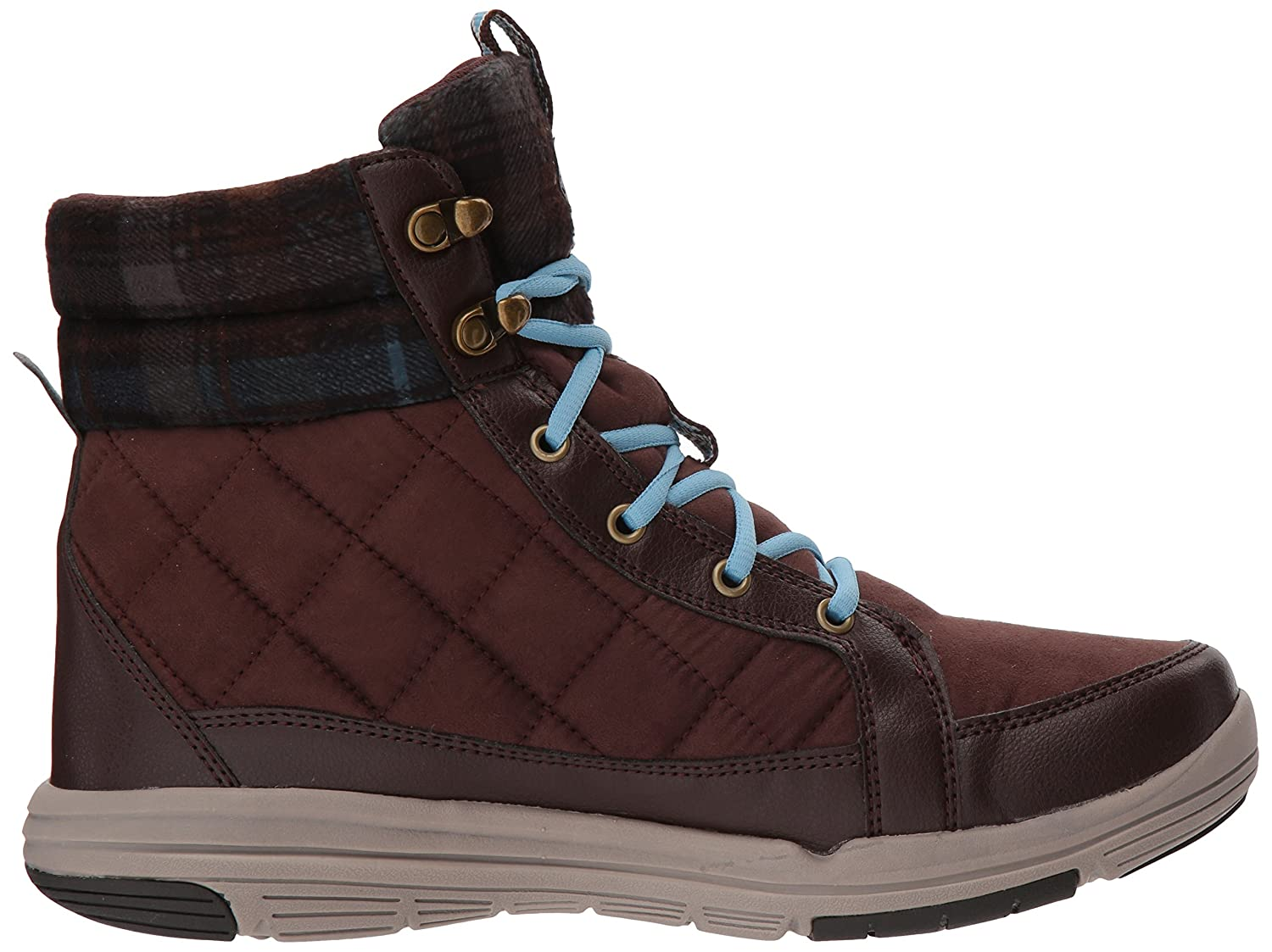 Ryka Women's Aurora Fashion Boot B0757NZYTN 11 W US|Roasted Chestnut/Nc Blue/Sidewalk